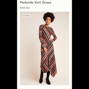 New Anthropologie Parkside Knit Dress size small
